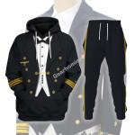 Gearhomies Tracksuit Hoodies Pullover Sweatshirt German WWII Kriegsmarine (War Navy) Historical 3D Apparel