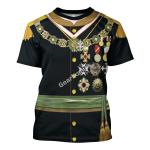 Gearhomies Unisex T-Shirt Porfirio Diaz 3D Apparel