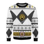 Gearhomies Sweatshirt Power Rangers 3D Apparel, White