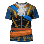 Gearhomies Unisex T-Shirt Philip V of Spain 3D Apparel