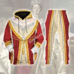 Gearhomies Tracksuit Hoodies Pullover Sweatshirt Queen Victoria Historical 3D Apparel