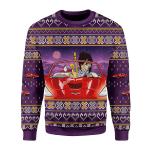 Merry Christmas Gearhomies Unisex Christmas Sweater Prince Little Red Corvette 3D Apparel
