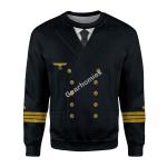 Gearhomies Unisex Sweatshirt German WWII Kriegsmarine (War Navy) 3D Apparel