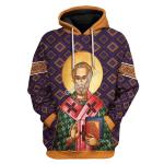 Gearhomies Unisex Tops Pullover Sweatshirt St. Nicholas 3D Apparel