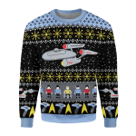 Gearhomies Unisex Sweatshirt Star Trek 3D Apparel