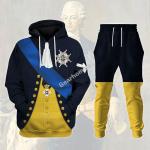 Gearhomies Tracksuit Hoodies Pullover Sweatshirt Gustav III of Sweden Historical 3D Apparel