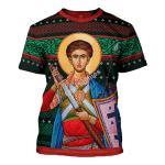Gearhomies Unisex T-shirt St. Dimitri 3D Apparel