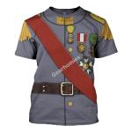 Gearhomies Unisex T-Shirt Ferdinand Foch 3D Apparel