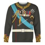 Gearhomies Unisex Sweatshirt Alexander III of Russia 3D Apparel