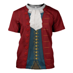 Gearhomies Unisex T-Shirt John Hancock 3D Apparel