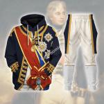 Gearhomies Tracksuit Horatio Nelson 1st Viscount Nelson Navy Sailor Historical 3D Apparel