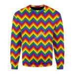 Merry Christmas Gearhomies Unisex Christmas Sweater LGBTQ+ Seamless