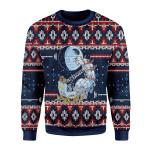 Merry Christmas Gearhomies Unisex Christmas Sweater Darth Santa 3D Apparel
