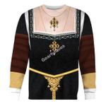 Gearhomies Unisex Sweatshirt Catherine of Aragon Queen of England 3D Apparel