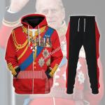 Gearhomies Tracksuit Hoodies Pullover Sweatshirt Prince Philip, Duke of Edinburgh Historical 3D Apparel
