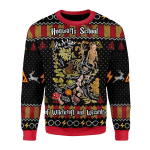 Merry Christmas Gearhomies Unisex Christmas Sweater Herbology Harry Potter 3D Apparel
