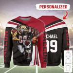 Gearhomies Personalized Unisex Sweatshirt Atlanta Falcons Football Team 3D Apparel