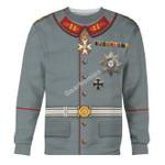 Gearhomies Unisex Sweatshirt Wilhelm II Former German Emperor 3D Apparel