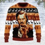 Merry Christmas Gearhomies Unisex Ugly Christmas Sweater Leo Pointing 3D Apparel