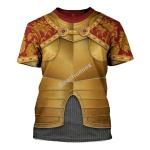 Gearhomies Unisex T-Shirt Holy Roman Emperor 3D Apparel