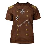 Gearhomies Unisex T-Shirt Erich von Falkenhayn 3D Apparel