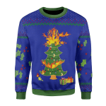 Merry Christmas Gearhomies Unisex Christmas Sweater On The Kelly Clarkson Show