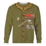 Gearhomies Unisex Sweatshirt Joseph Stalin 3D Apparel