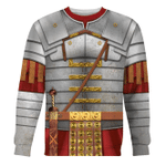 Gearhomies Unisex Sweatshirt Roman Empire Soldier Armor 3D Apparel