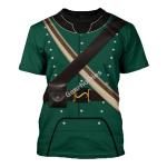Gearhomies Unisex T-Shirt 95th Rifles British Army 3D Apparel
