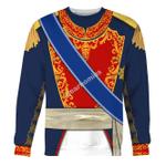 Gearhomies Unisex Sweatshirt Agustin de Iturbide 3D Apparel