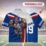 Gearhomies Personalized Hawaiian Shirt NY Giants Football Team 3D Apparel