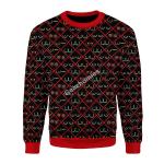 Merry Christmas Gearhomies Unisex Christmas Sweater Boobs Ugly Christmas
