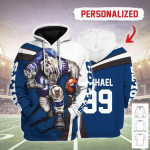 Gearhomies Personalized Unisex Tracksuit Hoodies Indianapolis Colts Football Team 3D Apparel