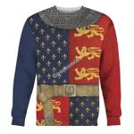 Gearhomies Unisex Sweatshirt Henry V of England 3D Apparel