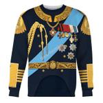Gearhomies Unisex Sweatshirt Nicholas II of Russia 3D Apparel