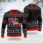 Merry Christmas Gearhomies Unisex Ugly Christmas Sweater Among Us 3D Apparel