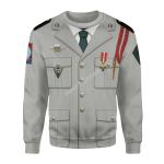 Gearhomies Unisex Sweatshirt French Foreign Legion 3D Apparel