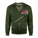 "Gearhomies Unisex Sweatshirt Lieutenant General Lewis Burwell ""Chesty"" Puller 3D Apparel"