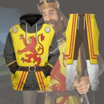 Gearhomies Tracksuit Hoodies Pullover Sweatshirt Robert The Bruce Historical 3D Apparel