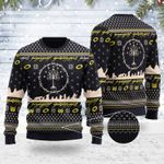 Merry Christmas Gearhomies Unisex Ugly Christmas Sweater  Lord Of The Rings 3D Apparel