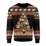 Merry Christmas Gearhomies Unisex Christmas Sweater Harry Potter 3D Apparel