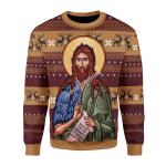 Gearhomies Unisex Sweatshirt St. John the Baptist 3D Apparel