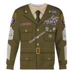 Gearhomies Unisex Sweatshirt US Army Greens 3D Apparel