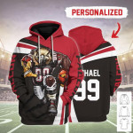 Gearhomies Personalized Unisex Tracksuit Hoodies Atlanta Falcons Football Team 3D Apparel