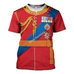Gearhomies Unisex T-Shirt Prince Andrew 3D Apparel