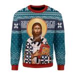 Gearhomies Unisex Sweatshirt St. Sava 3D Apparel