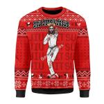 Merry Christmas Gearhomies Unisex Christmas Sweater JIU JITSU JESUS Christmas 3D Apparel