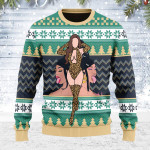 Merry Christmas Gearhomies Unisex Ugly Christmas Sweater Make It Rain For Wet As Pu**y 3D Apparel