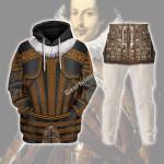 Gearhomies Tracksuit Hoodies Pullover Sweatshirt Cosimo II de' Medici Historical 3D Apparel