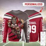 Gearhomies Personalized Unisex Sweatshirt Tampa Bay Buccaneers Football Team 3D Apparel